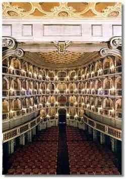 Bibbiena - Interno del Teatro