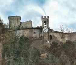 Panorama di Castel San Niccolò
