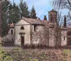 Castel San Niccolò -Chiesa di Santa Maria