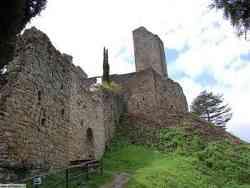 Castello di Romena - Le Mura