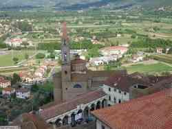 Castiglion Fiorentino - Vista dalla Torre