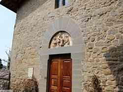 Castello di Gargonza la chiesetta