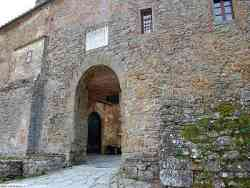 Castello di Gargonza Ingresso
