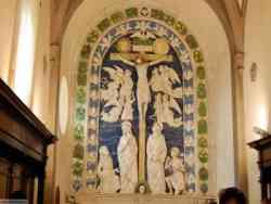 La Verna -Crocifissione Della Robbia