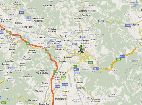 Arezzo guida e foto for Arredo bagno arezzo e provincia