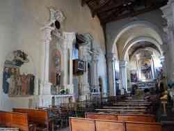 Monte San Savino - Interno Sant'Agostino