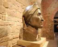 Poppi - Busto di Dante