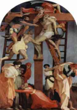 Sansepolcro - Deposizione di Rosso Fiorentino