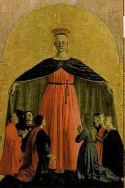 Sansepolcro - Madonna Della Misericordia