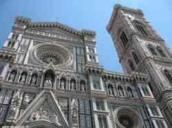 Firenze - foto del Duomo affiancato dal Campanile