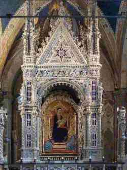 Firenze - Tabernacolo dell'Orcagna a Orsanmichele