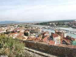 Castiglione della Pescaia - vista dal castello