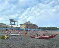 Castagneto Carducci - foto della spiaggia di Marina del Forte