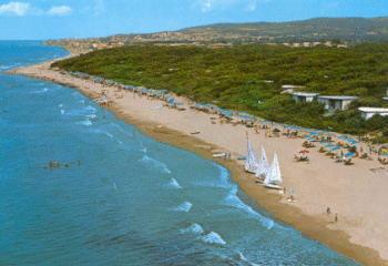 San Vincenzo Panorama della spiaggia