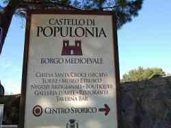 Insegna di Populonia