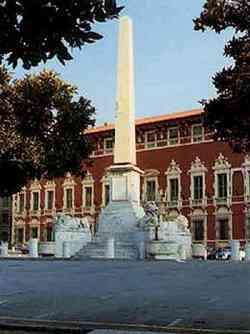 Massa Obelisco in Piazza Aranci