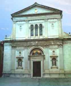 Pontremoli - Foto della Facciata di Santa Maria del Popolo