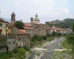 Foto panoramica di Pontremoli
