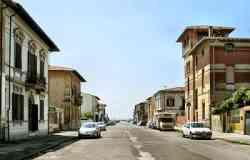 Marina di Pisa - Strada centrale
