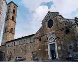Volterra - Foto  del  Duomo dell'Assunta