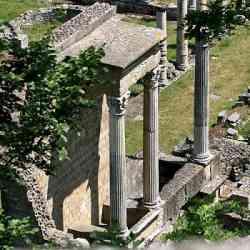 Volterra - Rovine romane