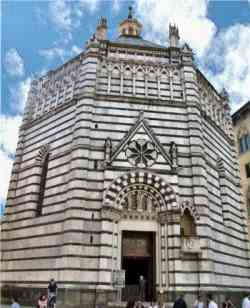 Pistoia - Battistero di San Giovanni in Corte