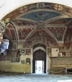 Pistoia - Interno Palazzo Pretorio