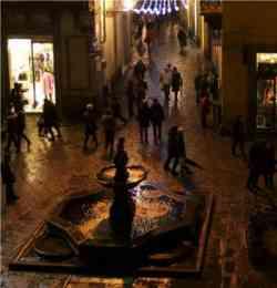 Prato - Centro storico di notte