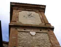 Castelnuovo Berardenga Torre dell'orologio