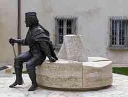 Rapolano Terme monumento a Garibaldi