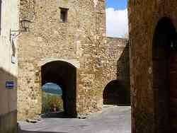 San Quirico D'Orcia Porta dei Cappuccini