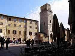 San Gimignano Torre rognosa