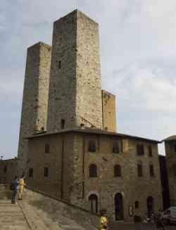 San Gimignano Torri Gemelle
