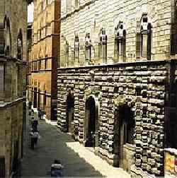 Siena - Palazzo Piccolomini e delle Papesse