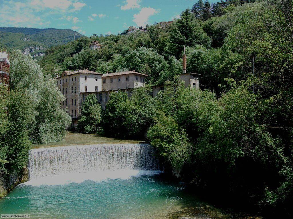 Cascata del torrente Leno a Rovereto