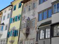 Bolzano - Classica facciata dipinta