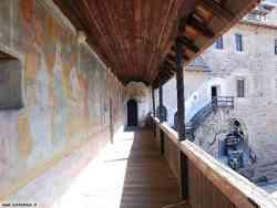 Affreschi veranda di Castel Roncolo - Bolzano