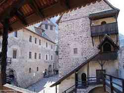 La corte di Castel Roncolo - Bolzano