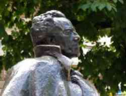 Dobbiaco - Busto di Gustav Mahler