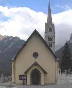 Canazei - Chiesa di Alba