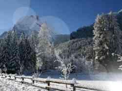 Moena sotto la neve