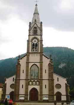Predazzo - Chiesa di S.Faustino e Giovitta