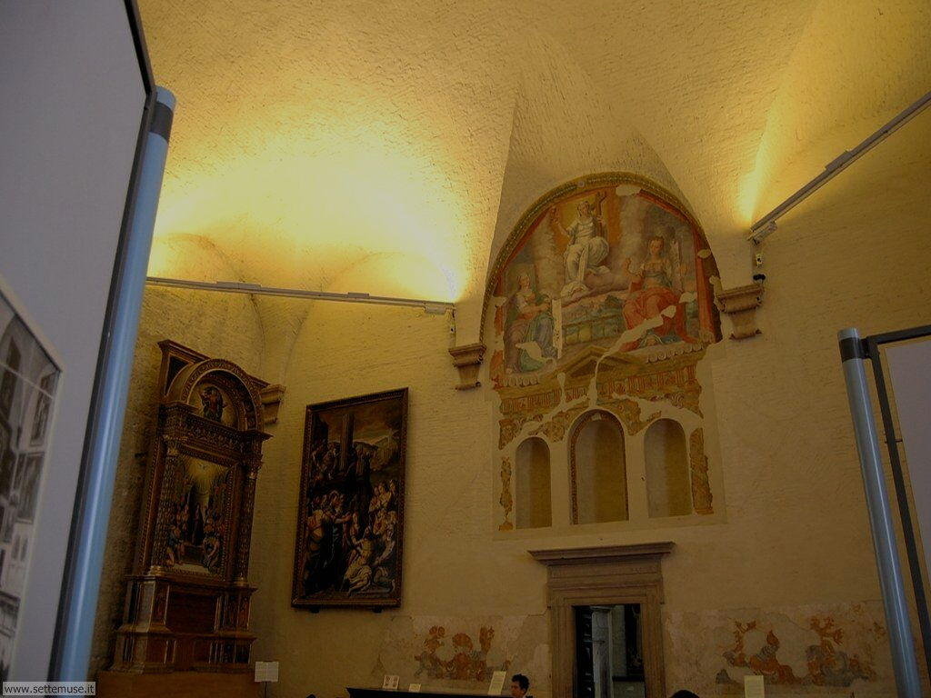 Gubbio salone interno
