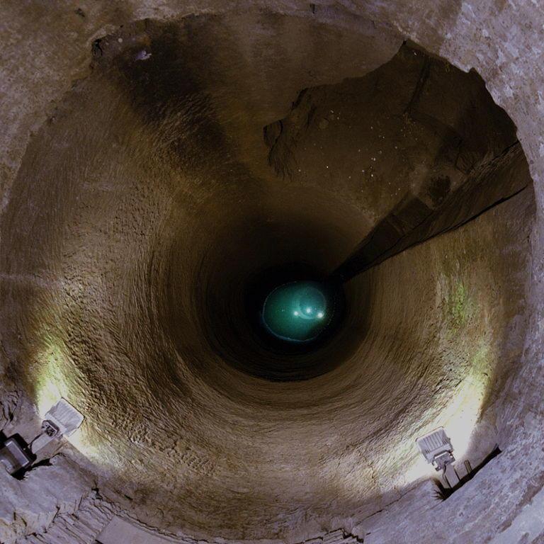 pozzo della cava pozzo visto dall alto