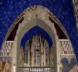 Assisi - Cripta della Basilica Inferiore