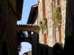 Bevagna - Case del centro storico