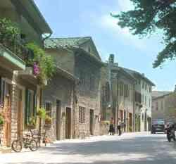 Citerna - Foto di una via del centro storico