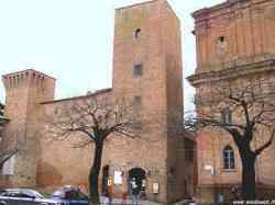 Cinta muraria di Città della Pieve con Torre Civica