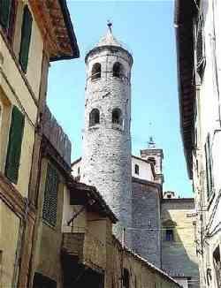 Città di Castello - Torre cilindrica