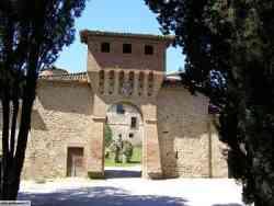 Civitella Ranieri ingresso  principale